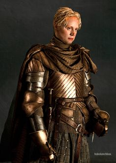 Gwendolyn Christie as Brienne of Tarth. Lady Brienne, Brienne Of Tarth, Winter Is Here, Winter Is Coming, Larp, Gwendolyn Christie, Got Characters, Fictional Characters, Game Of Thones