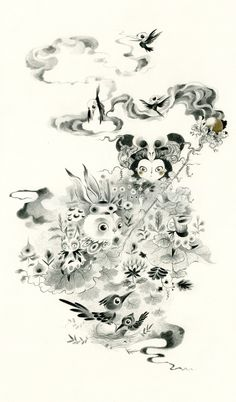 Fantastical Flora & Fauna - Smoke on Behance