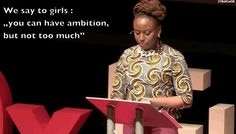 Chimamanda Ngozi Adichie, for giving this incredible TED talk about feminism (later sampled in a Beyoncé song): Chimamanda Ngozi Adichie, Types Of Feminism, Best Ted Talks, Famous Speeches, Women Rights, Happy Thoughts, Free Ebooks, Beyonce, Product Launch