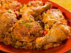 Get this all-star, easy-to-follow Arroz con Pollo (Rice with Chicken) recipe from Nancy Fuller