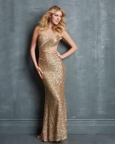 awesome Роскошное золотое платье (50 фото) — Лучшие идеи блистательного образа