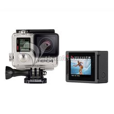 486.84$  Buy now - http://alilre.worldwells.pw/go.php?t=32234145337 - Gopro Hero 4 Camera Silver Professional Version for Extreme Sport w/ LCD Touch Screen & 32G Card