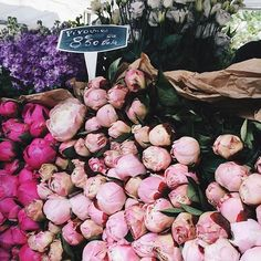 I can't even deal! Secretly wishing I owned a #flowershop! 🌸📸 via @margoandme #peonyflowers #peonylover