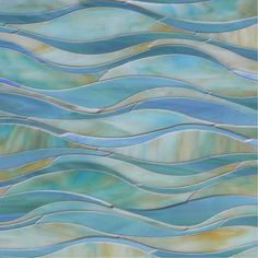 Oasis in Glass -- Mosaic Tile, at The Tilery: Your New England and Cape Cod Tile Experts Mosaic Bathroom, Glass Mosaic Tiles, Mosaic Tile Designs, Bathroom Wall, Kitchen Splashback Tiles, Rustic Bathroom Designs, Dream Bath, Shower Remodel, Home Remodeling