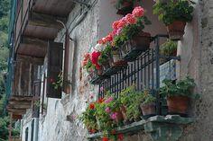 Italian balcony by PeterKvG, via Flickr
