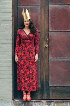 Luciamaxi 2  red maxi  brand image