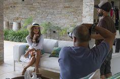 Making Of: Preview Verão 2014 Marcia Mello. #moda #fashion #estampas #acessorios #verao #marciamello   #maquiagem #makeup #brincos #anel