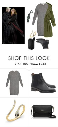 """75 // NEVER LAUGH AT WOUNDED MEN"" by sugar-and-cinnamon ❤ liked on Polyvore featuring Acne Studios and Kate Spade"