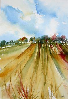 Terre du sud 02 - Véronique Piaser-Moyen Artmajeur