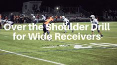 Youth Football Drills, Space Words, Power Out, Muscle Memory, Wide Receiver, Running Tips, Coaching, Shoulder, Plays