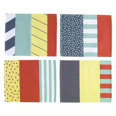 Bitossi Set of 4 Placemats 30x39