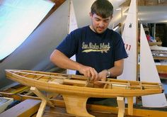 https://flic.kr/p/afZ9kp | Building a Marblehead M Class pond yacht - The Wooden Boat School Brooklin Maine USA