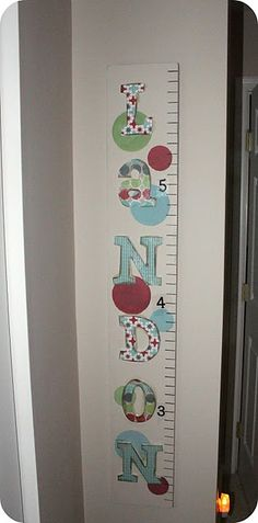 Growth Chart, of course I could make it, with the right name and the right colors.