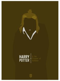 Harry Potter and the Prisoner of Azkaban (2004) ~ Minimal Movie Poster by Hexagonall ~ Harry Potter Series