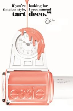 Timeless style with essie coral shades... 'tart deco' is one of our favourites. What's yours?