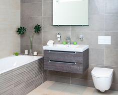 Výsledek obrázku pro koupelna inspirace Grey Bathrooms, Villeroy, Vanity, Home Decor, Interiors, Architecture, Ideas, Bath, Powder Room