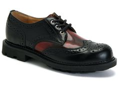 John Fluevog is renown for its extensive collection of unique shoes and accessories for men and women. Sock Shoes, Men's Shoes, Dress Shoes, Unique Shoes, Men's Wardrobe, Well Dressed Men, Brogues, Loafers, Shoe Shop