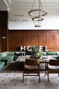A weekend guide to Portland. Enjoyed a quick taste of Portland during our two day trip in May. See where we stayed, the places we ate and where we shopped! Ace Hotel Portland, Weekend In Portland, Portland Pdx, Oregon Travel, Great Vacations, Great Hotel, Best Hotels, Interior Design, House
