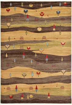 Foret Noire Area Rug