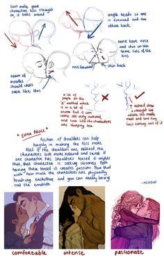Art/Sai/Tutorials, How?? Do you draw kisses?? So well??