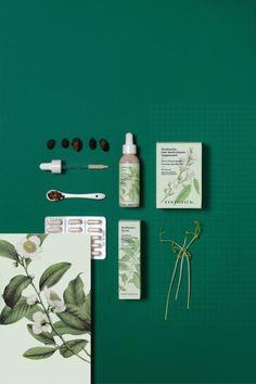 Hair Serum // Botanical Branding For Syntonics // FormNation