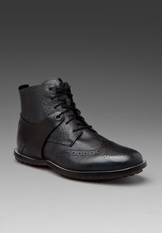 newest 1e0ff 9e564 Dual tone leather boot. I love the hip, gentleman vibe of these, plus