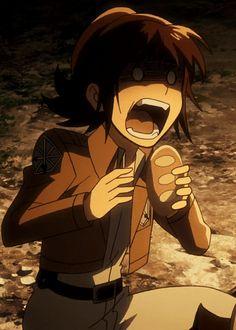 Sasha Braus GIFs anime shingeki no kyojin attack on titan Aot Gifs, Anime Gifs, Manga Anime, Anime Art, Attack Titan, Attack On Titan Funny, Armin, Animation, Potato Girl