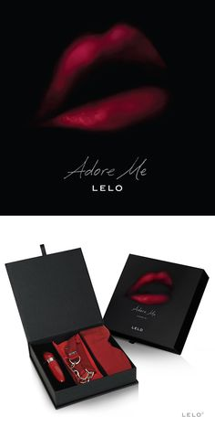 The Adore Me Valentine's Day Pleasure Set from LELO is beautifully packaged.