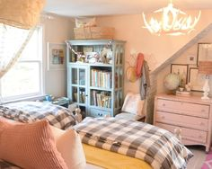 Girls Bedroom Tour - Nesting With Grace