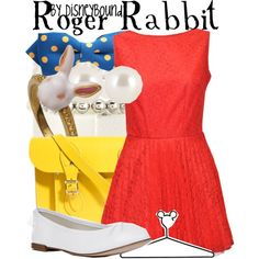 """""""Roger Rabbit"""" by lalakay on Polyvore"""