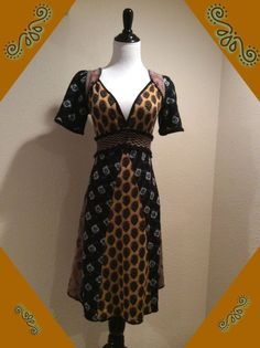 "BOHO ANTHROPOLOGIE Sweater Dress by ""MOTH"" Size Small #Anthropologie #SweaterDress #Casual"