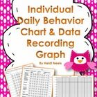 We all have a student who does not respond to our classroom behavior plan.  This product is for the student that might need to work on specific beh...