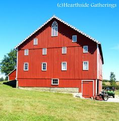 Historic barn and farm tour Ohio