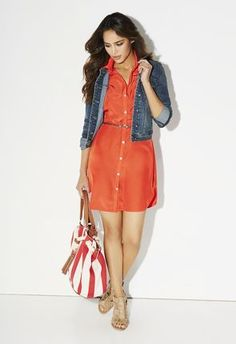 I take red Jonah handbag with me when we go boating or out to lunch! #justfabonline #ambsdr