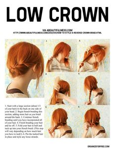 low crown tutorial