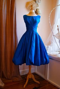 50s Dress / 1950s Party Dress / Vintage 50s by xtabayvintage, $298.00