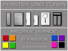 Sims 4: Fenster & Türen | Welcome to AKISIMA – free downloads with <3