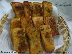 Masala Aloo on Toast