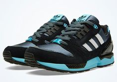 25 years ago, the adidas ZX 8000 was introduced to the masses. The  quarter-century mark hasn't gone unnoticed by the three stripes as they  released a ...