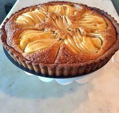 Pear Frangipane with Almond Paste -  Gluten Free