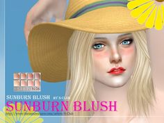 Blush 06 by S-Club WM at TSR • Sims 4 Updates