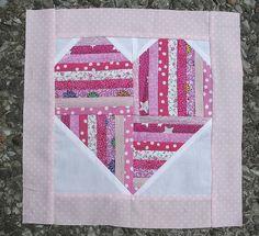 With Heart and Hands* : Free Heart Themed Patterns: Quilt Blocks ... : heart quilt blocks - Adamdwight.com
