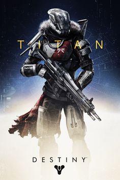 Proud member of the Destiny Titan master race! #destiny #bungie #video games