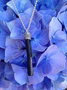 Black Coral Twig Necklace
