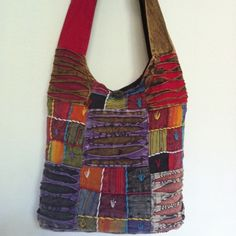 PATCHWORK HIPPIE  HOBO CROSS BODY SHOULDER BAG PURSE HANDMADE NEPAL