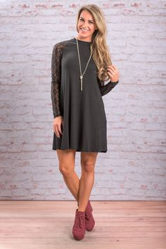 """Time Will Tell Dress, Black"" Time will only tell how many parties and events you wear this LBD to. But if we had to guess, we'd say a lot!! #newarrivals #shopthemint"