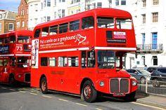 RM 2179 Double Decker Bus, Bus Coach, Red Bus, London Bus, London Transport, Coaches, Buses, Brighton, Britain