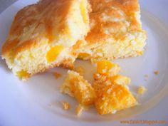 Fizule71: Z BÁBINČINY KUCHYNĚ: SVÁTEČNÍ BROSKVOVÝ Cornbread, French Toast, Food And Drink, Baking, Breakfast, Cake, Ethnic Recipes, Pies, Millet Bread