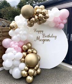 Balloon Backdrop, Floral Backdrop, Balloon Decorations, Birthday Party Decorations, Balloons, Happy Birthday Greetings Friends, 18th Birthday Party, Diy Party, Party Time
