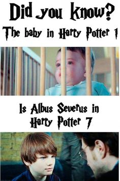 "Officially BUSTED! Infant Harry is played by the ""Saunders Triplets"" (three baby boys) Albus Severus is played by Arthur Bowen."